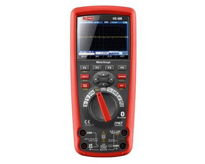 MeterScope HS608 RS Pro multimeter