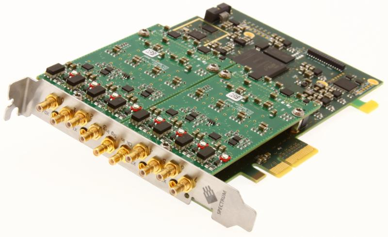 Spectrum's 16-bit PCI Express M2p.59xx Series Digitizers