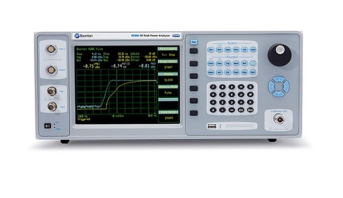 Boonton 4500C Peak Power Analyzer for measurements up to 40 GHz.