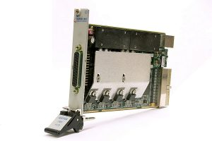 Marvin Test Solutions offers a four-channel SMU GX3104 in PXI format.