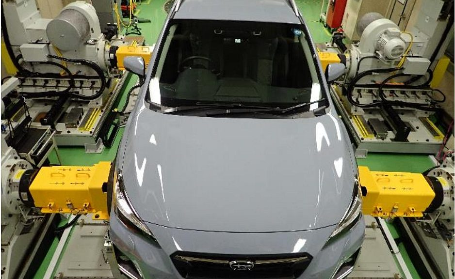 Subaru uses NationaI Instruments' (NI) hardware-in-theloop (HIL) test solution.