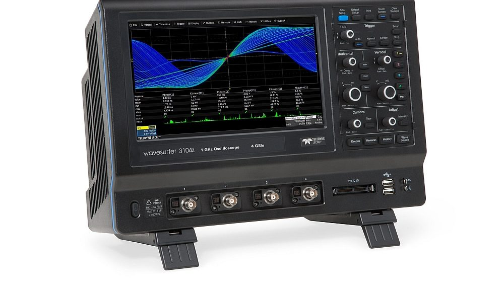 Teledyne LeCroy WaveSurfer 3000z Oscilloscopes with 4 analog inputs