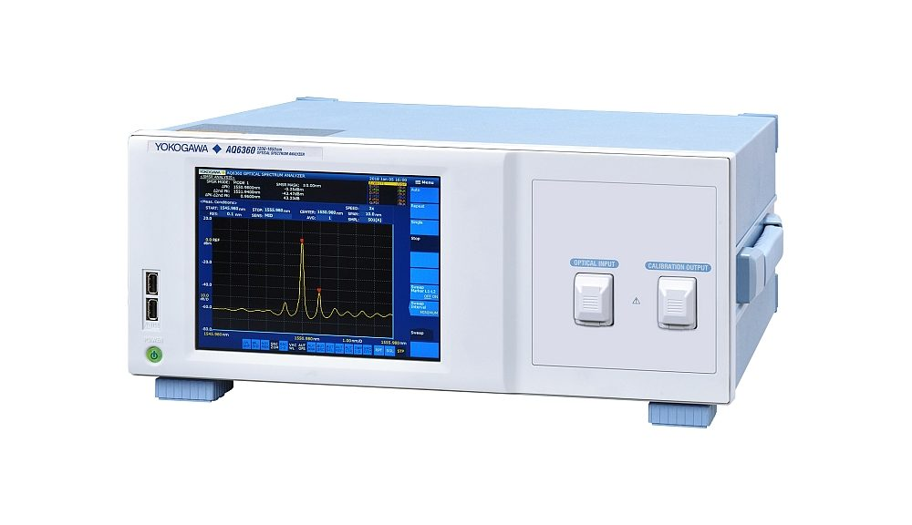 Yokogawa's AQ6360 Optical Spectrum Analyzer for Production Testing.