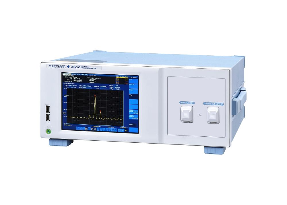 Yokogawa's AQ6360 Optical Spectrum Analyzer for Production Testing.
