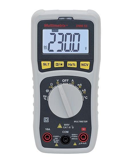 Multimetrix DMM53 compact digital multimeter by Chauvin Arnoux.