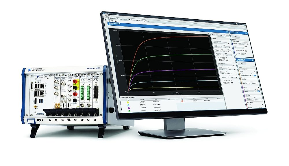 InstrumentStudio software from National Instruments (NI) for PXI automatic test systems.