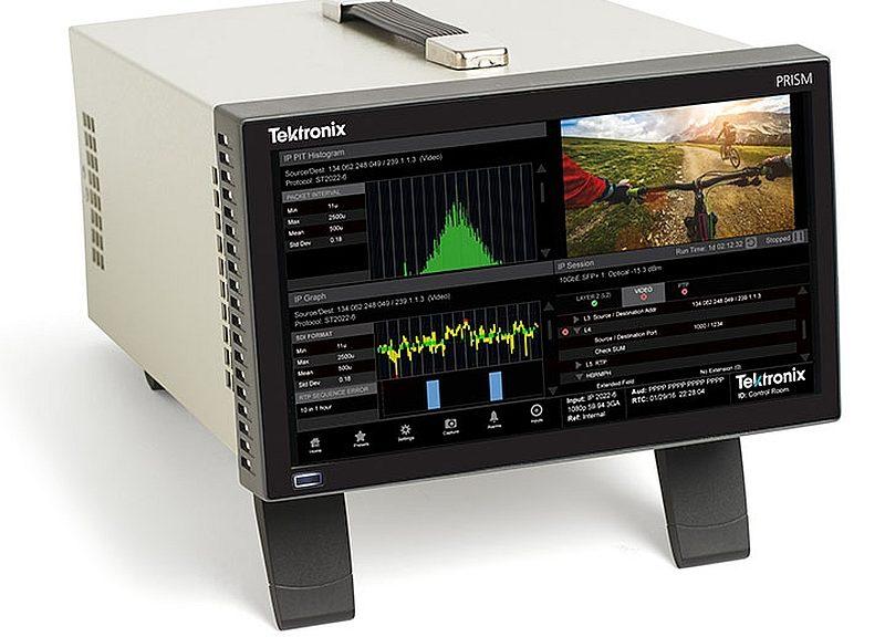 Tektronix prism MPI hybrid SDI IP infrastucture