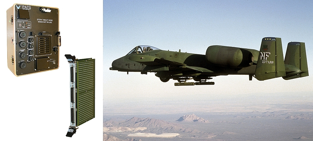 Pickering Interfaces equips the PATS-70A test systems of the a-10C attack aircraft with the PXI 45-542 switch matrix module.