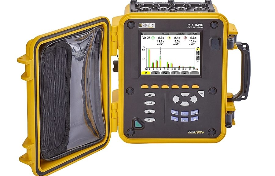 Qualistar+ C.A. 8436 electrical network quality analyser from Chauvin Arnoux