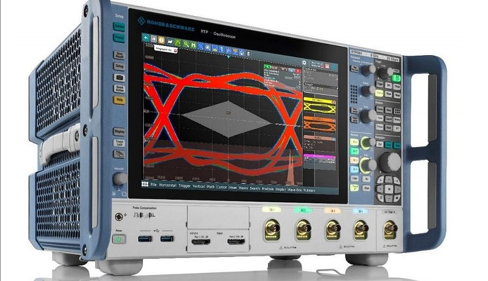 R&S RTP oscilloscopes series from Rohde&Schwarz.