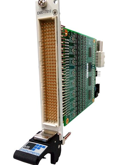 EMX-75XX range of PXI Express digital I/O modules from VTI Instruments.