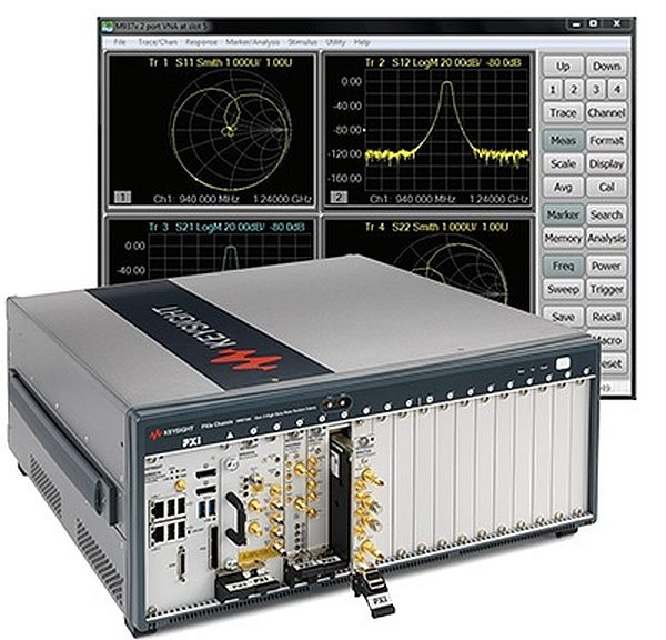 PXIe and PXI modular instrumentation from Keysight.