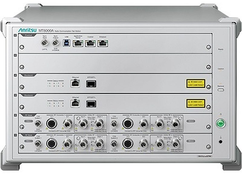 Anritsu's MT8000A Radio Communication Test Station.