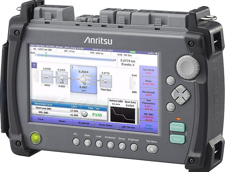 Anritsu Access Master MT9085 field OTDR.
