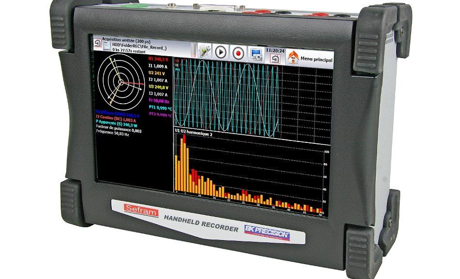 DAS30 portable recorder from Sefram.