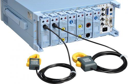 Rear side of the Yokogawa WT5000 electrical power analyzer.