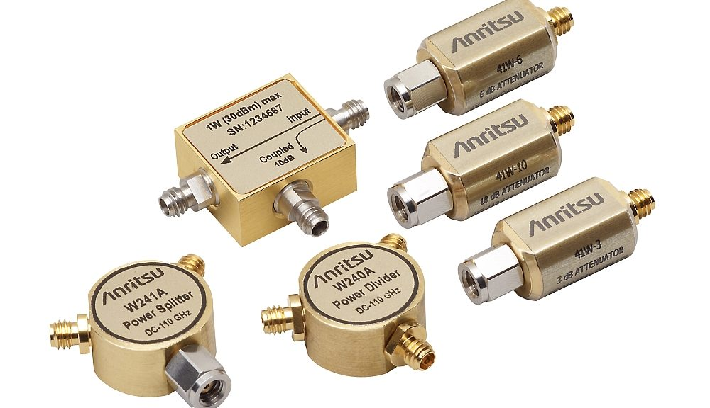 Anritsu's W1 coaxial components.