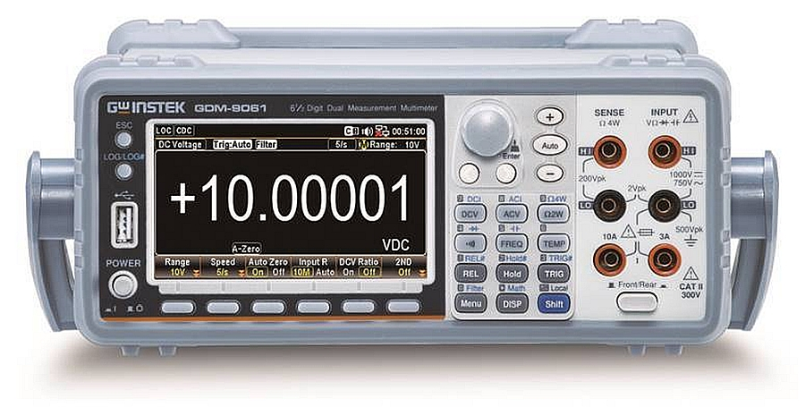 GW Instek GDM-906X range of 6 ½ digits multimeters.