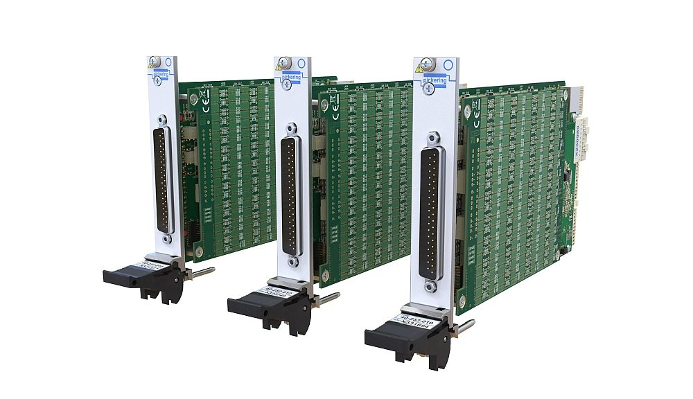 PXI modules of the 40-251/2/2/2/3 family from Pickering Interfaces.