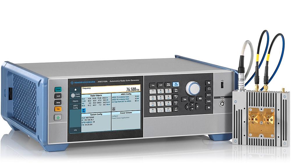 R&S AREG100A automotive radar echo generator from Rohde & Schwarz.