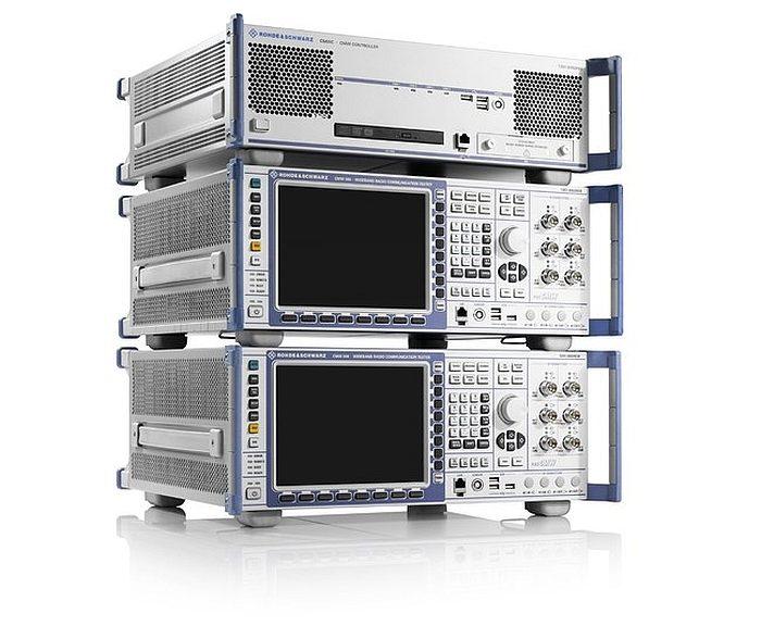 Rohde & Schwarz's CMWflexx communication test solution.