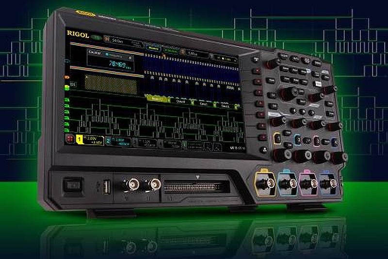 Rigol MSO5000 series oscilloscopes.