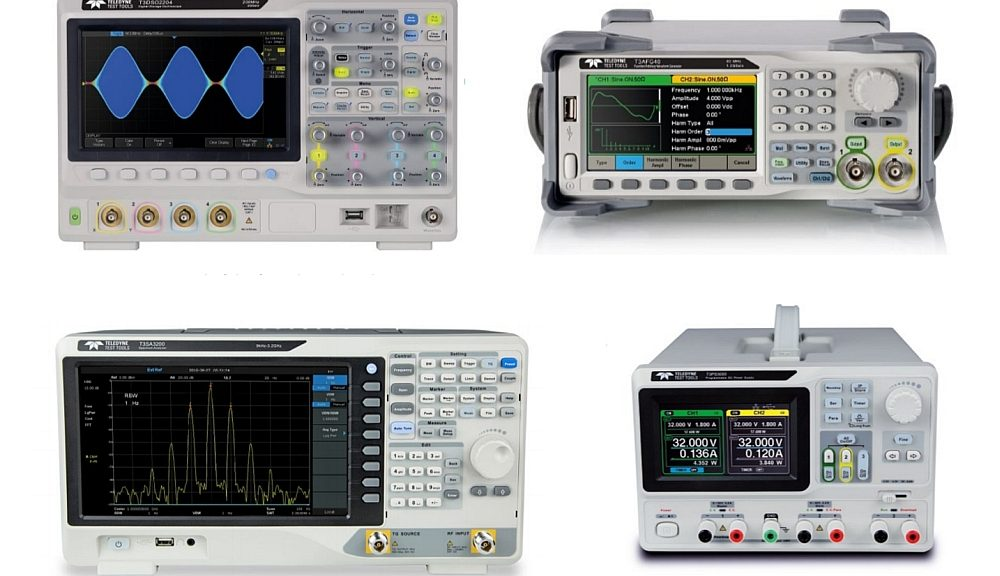Teledyne Test Tools' electronic test and measurement instruments.