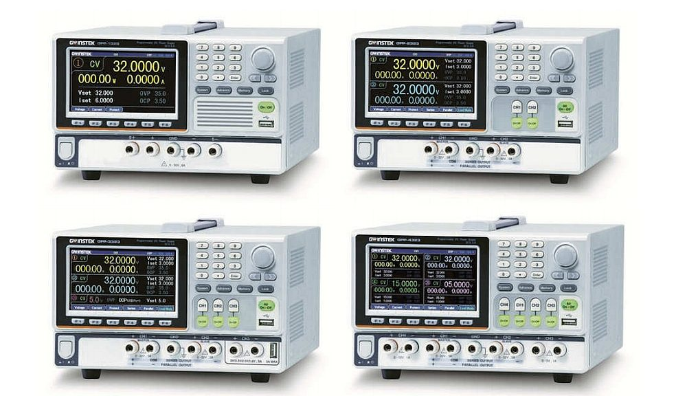 GPP series DC power supplies from GW Instek.