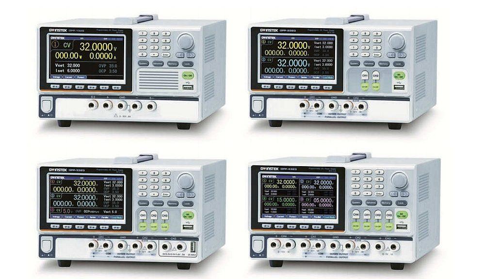 GPP series DC power supplies from GW Instek.