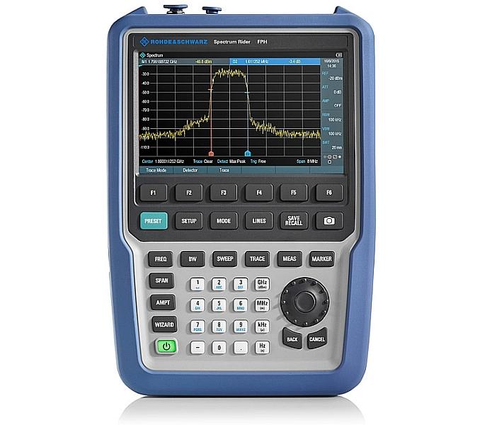 R&S Spectrum Rider FPH analyzer from Rohde & Schwarz.