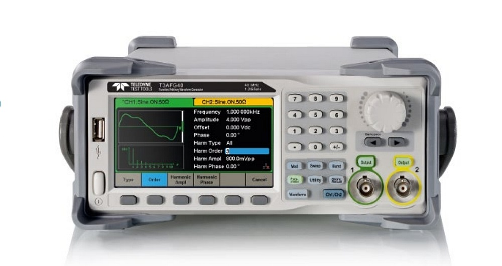 Teledyne Test Tools T3AFG function and arbitrary waveform generators.
