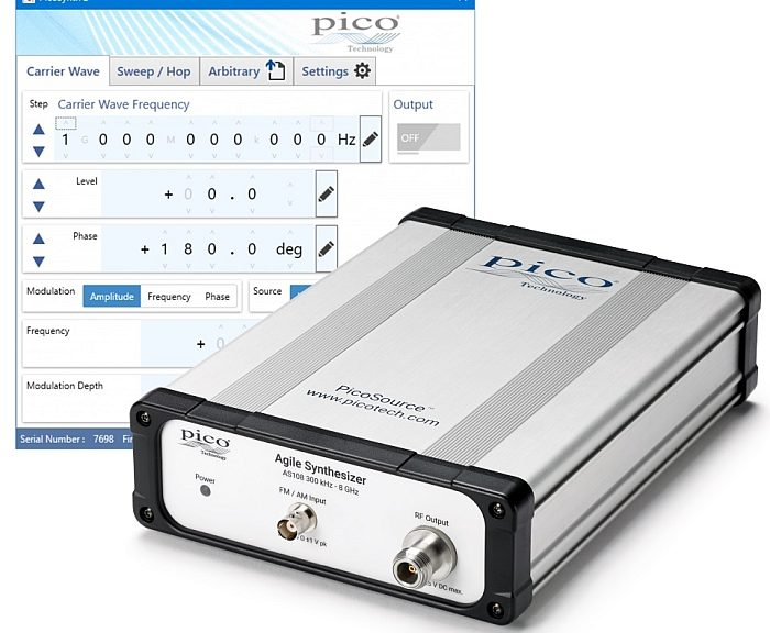 PicoSource AS108 synthesizer from Pico Technology.