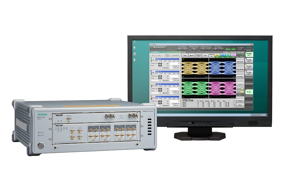 Oscilloscope option for the BERTWave MP2110A from Anritsu.