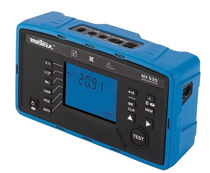 Metrix MX 535 Electrical Installation Tester.
