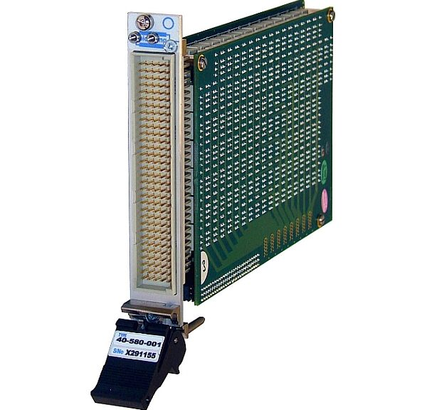 Pickering Intrefaces's 40-580 and 40-583 PXI switching matrices.