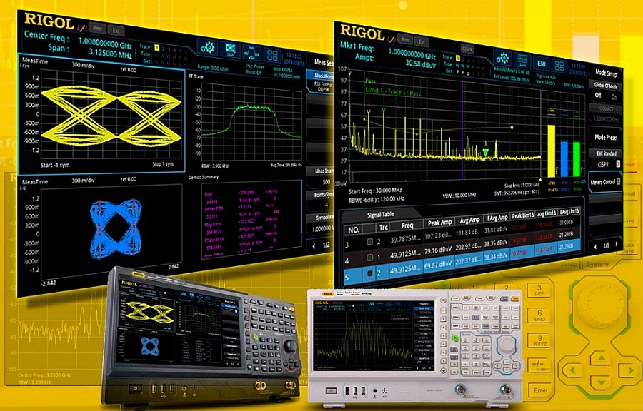 Software tools for Rigol's RSA5000 spectrum analyzers.