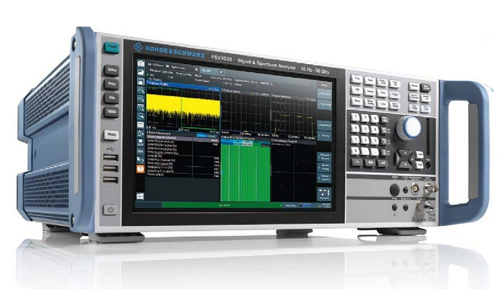 FSV3000 spectrum analyzer from Rohde&Schwarz.