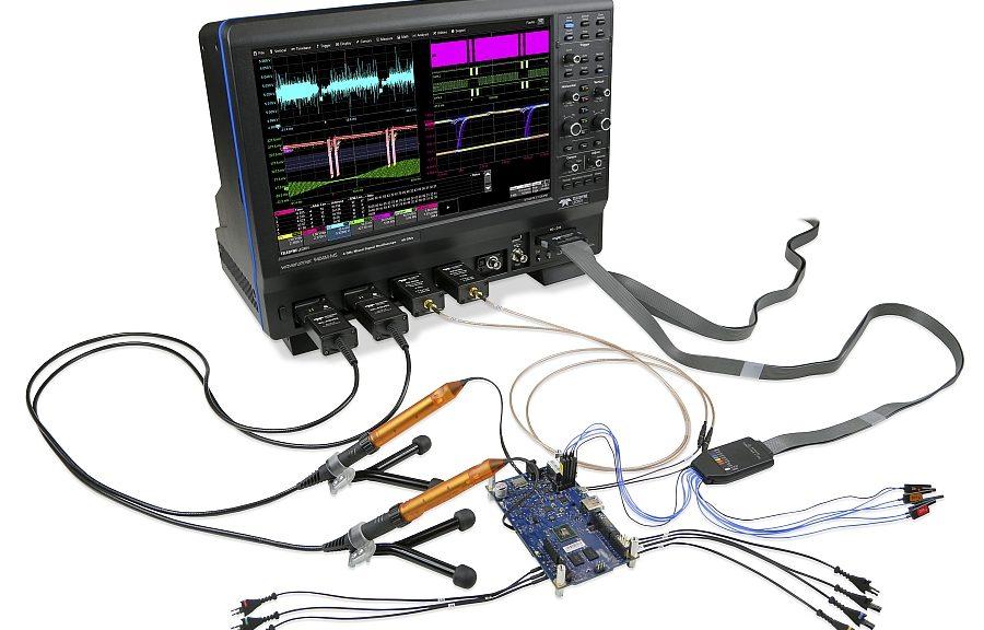 Teledyne LeCroy's WaveRunner 9000 series oscilloscopes.
