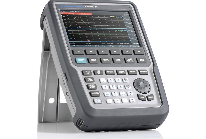 Rohde & Schwarz's Cable Rider ZPH antenna and cable analyzer.