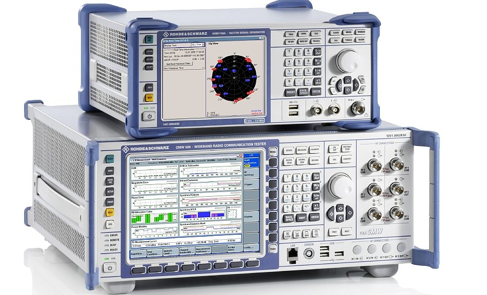 Rohde & Schwarz's V2X communication tester approved by the GCF.