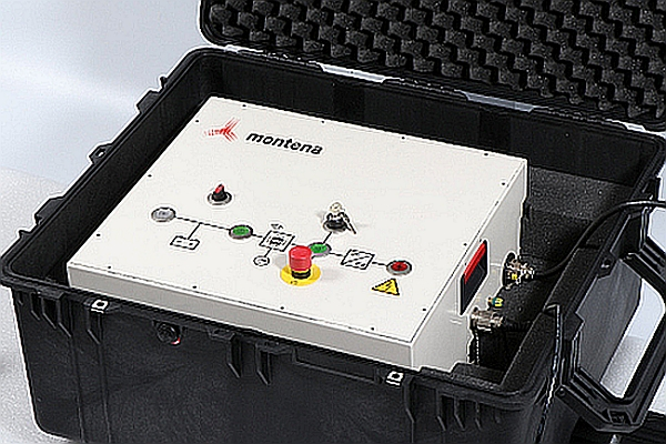 PPG-E1-1200 pulse generator from Montena.