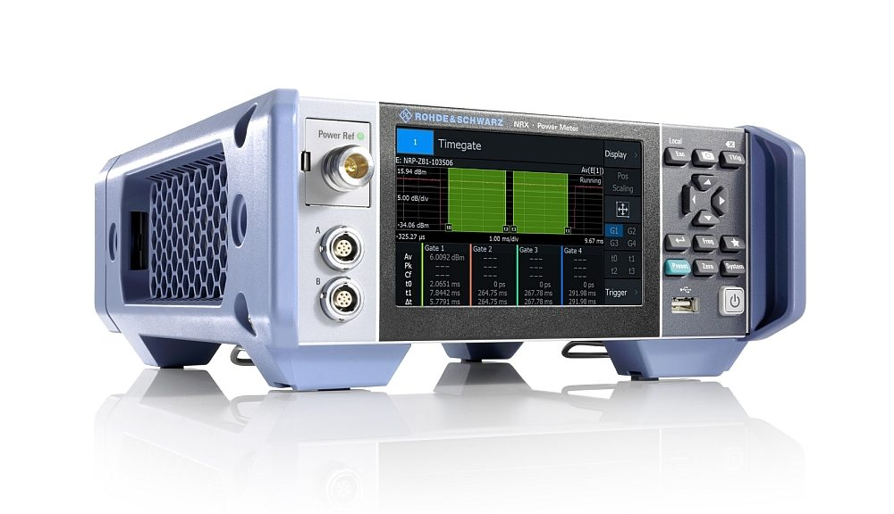 Rohde & Schwarz R&S NRX Multichannel RF power meter.
