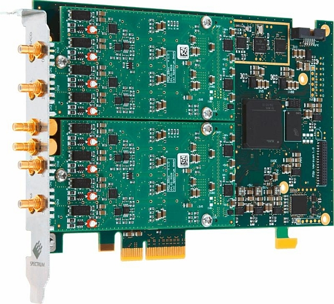 Spectrum introduces two 16-bit AWG cards with 8 channels   Temcom