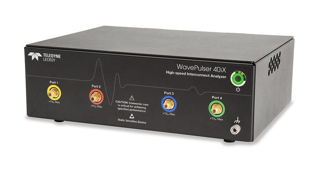 Teledyne LeCroy's WavePulser 40iX interconnect analyzer.