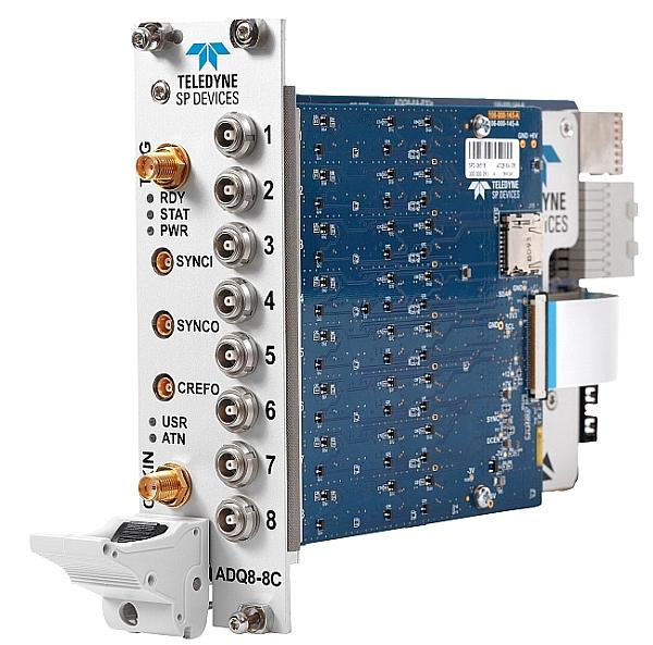 Teledyne SP Devices ADQ8-8C digitizer.