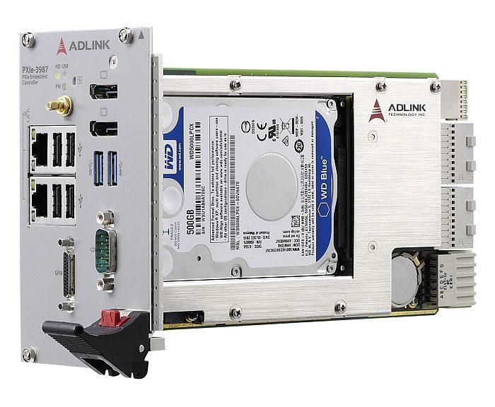 Adlink's PXIe-3987 controller.