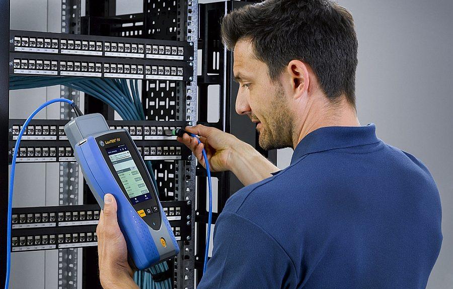 Ideal Networks LanTek IV cable certifier.