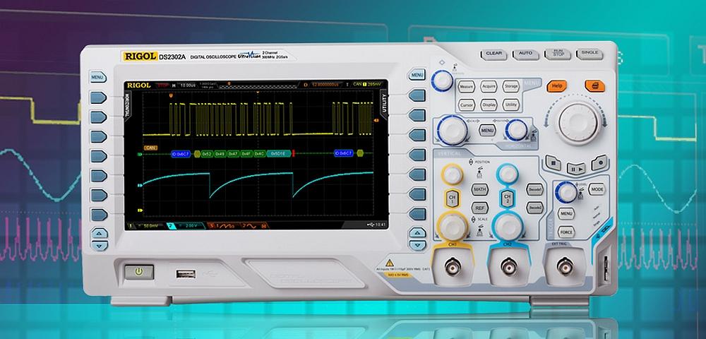 Rigol Technologies DS2000A oscilloscope.