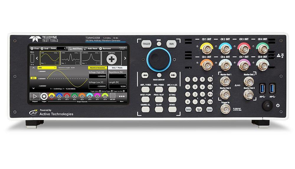 Teledyne Test Tools T3AWG3358 arbitrary waveform generator (AWG).