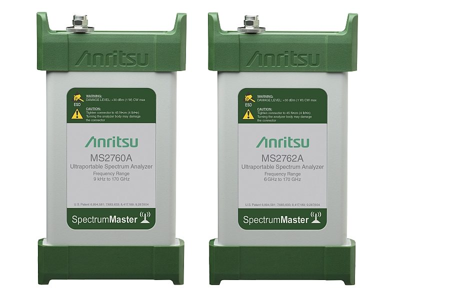 Anritsu's MS2760A and MS2762A Spectrum Master modules.